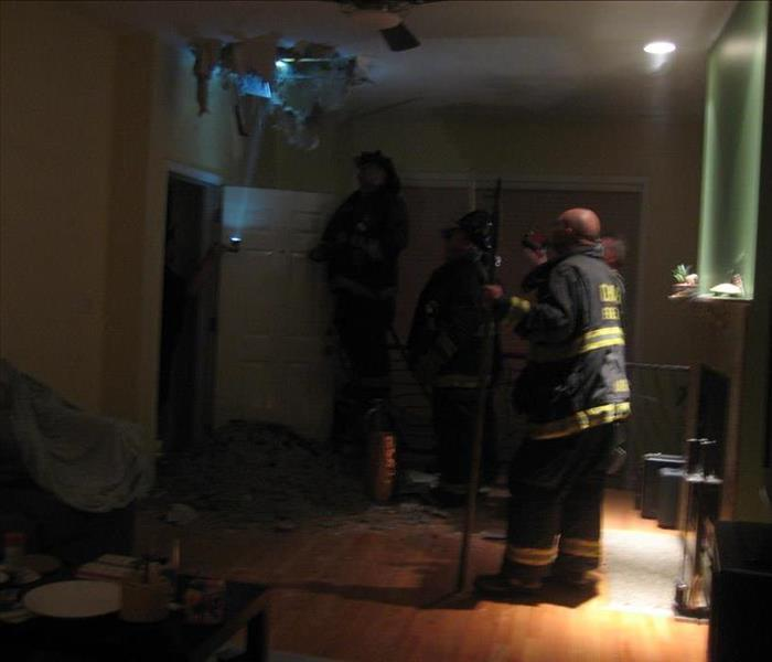 Recessed Lighting Fire in Ukraine Village in Chicago, IL Before