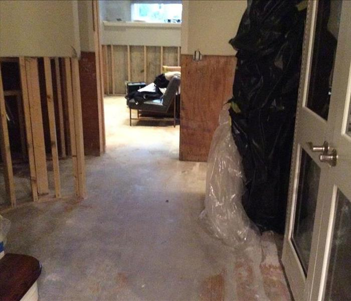 Flooded Basement in Lincoln Park  After