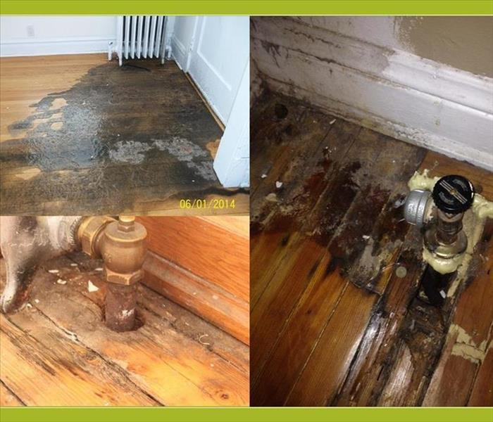 Water Damage Leaky Radiators
